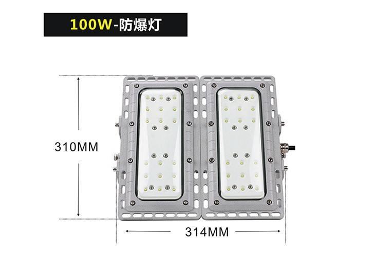 BED56模组LED防爆灯双模组