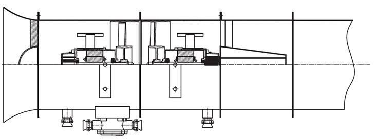 BT35-11系列防爆轴流风机高压两极对旋风机管道连接