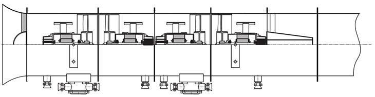 BT35-11系列防爆轴流风机高压四极旋风机管道连接