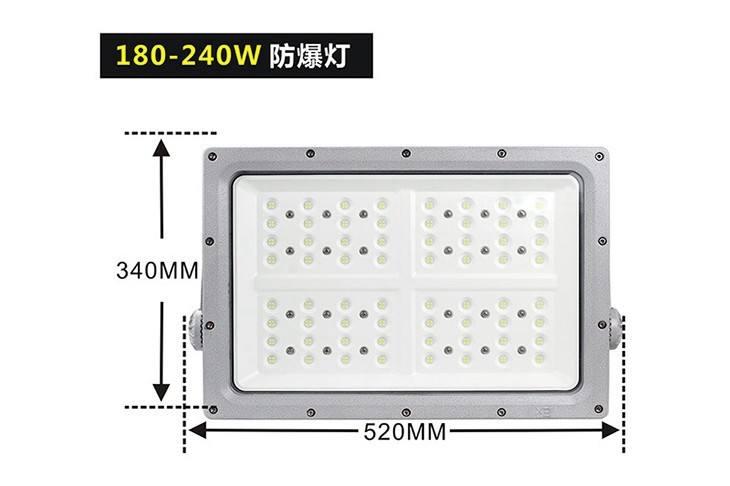 方形LED防爆灯BED57
