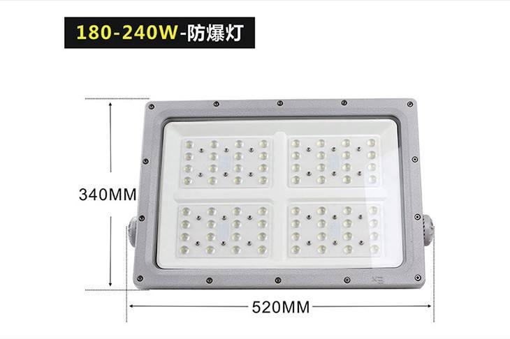新款方形LED防爆灯BED57