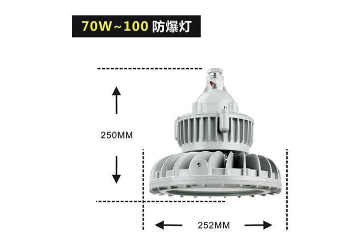 圆形LED防爆灯BED55