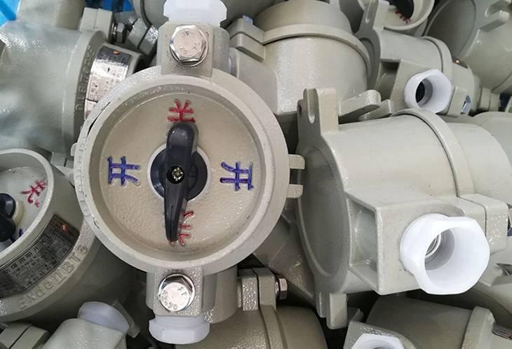 SW-10系列防爆照明开关