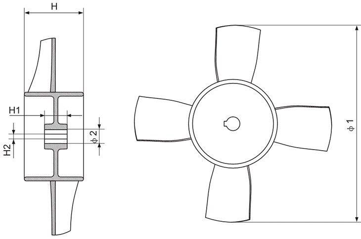 2-4号机叶轮系列