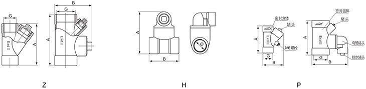 BGM系列防爆隔离密封盒外形尺寸