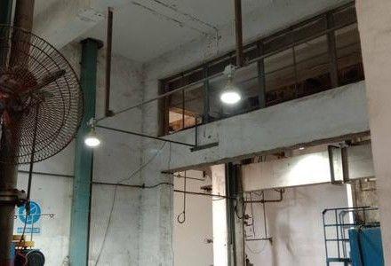 LED防爆灯安装现场
