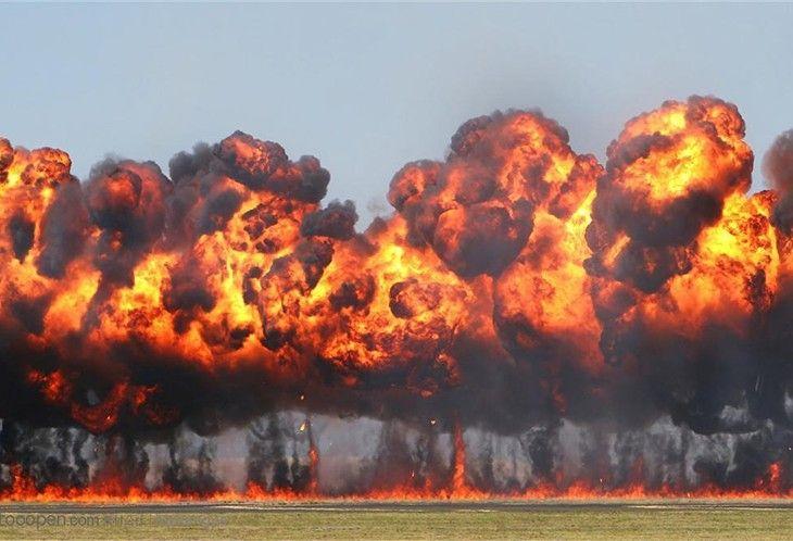 可燃气体爆炸