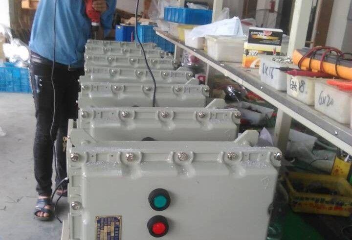 防爆电气设备装配